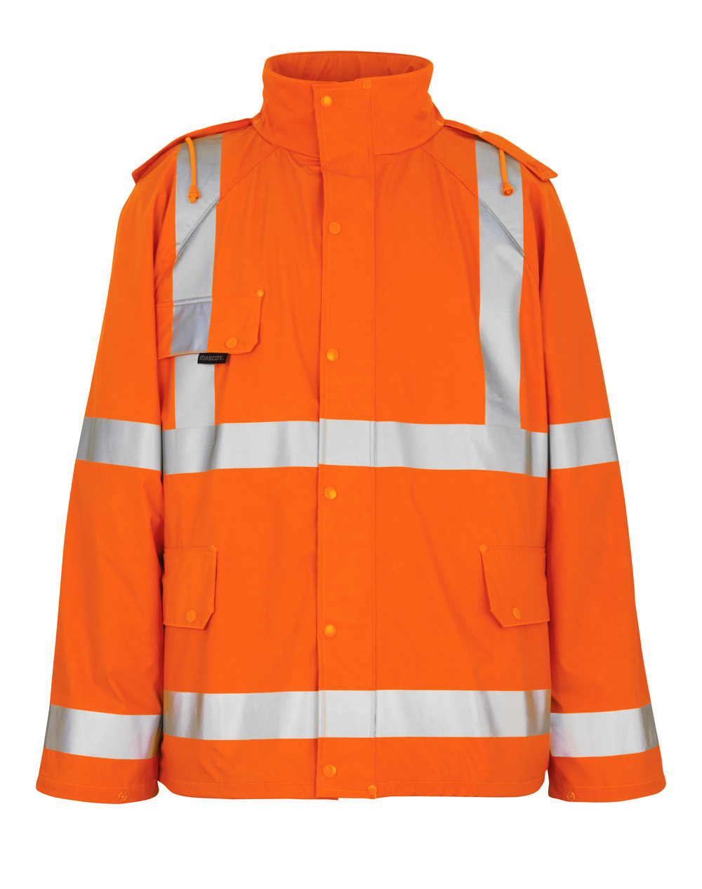 50101-814-14 Rain Jacket - hi-vis orange
