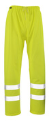 50102-814-17 Rain Trousers - hi-vis yellow