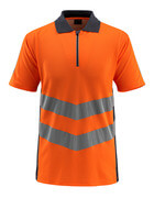 50130-933-14010 Polo shirt - hi-vis orange/dark navy