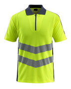 50130-933-17010 Polo Shirt - hi-vis yellow/dark navy