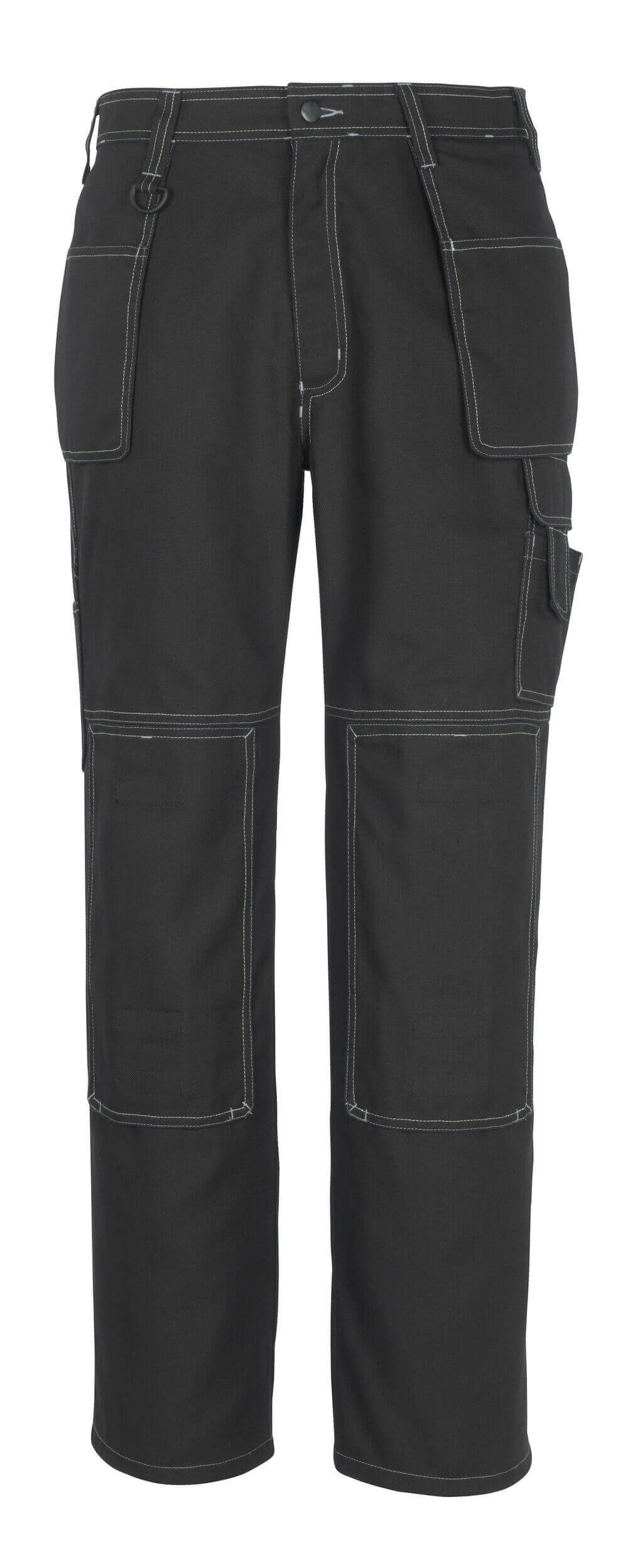 50194-884-09 Trousers with kneepad pockets and holster pockets - black