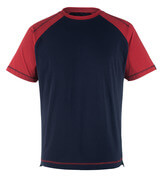 50301-250-12 T-shirt - navy/red