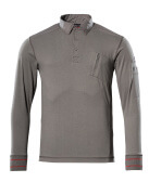 50352-833-118 Polo Sweatshirt - light anthracite