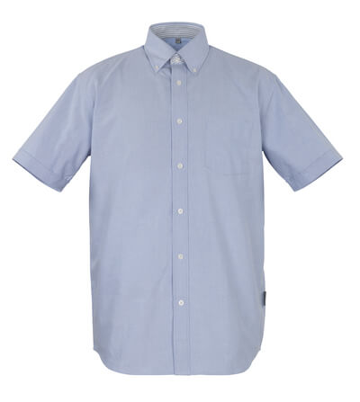 50377-887-B13 Shirt, short-sleeved - oxford blue