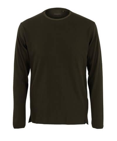 50402-865-19 T-shirt, long-sleeved - dark olive