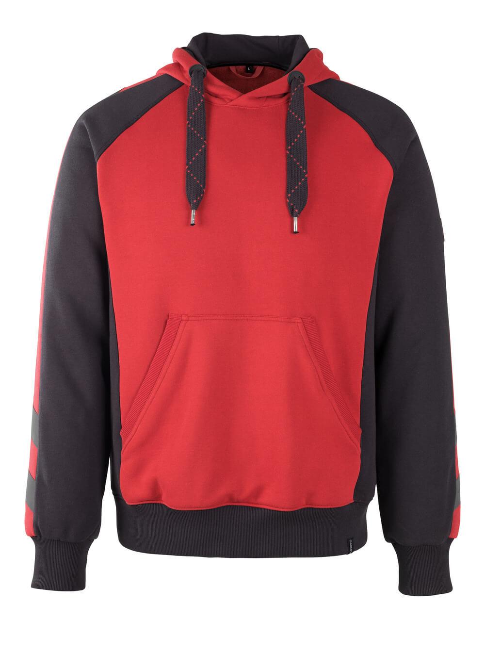 50508-811-0209 Hoodie - red/black