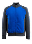 50565-963-11010 Sweatshirt with zipper - royal/dark navy