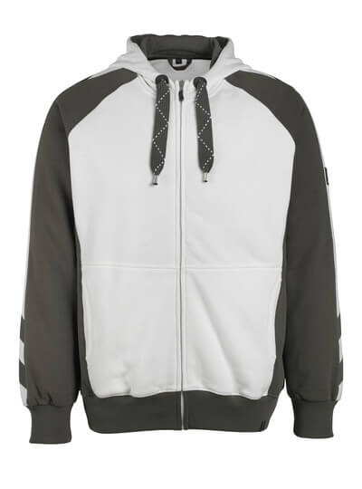 50566-963-0918 Hoodie with zipper - black/dark anthracite