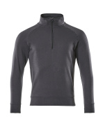 50611-971-010 Sweatshirt with half zip - dark navy