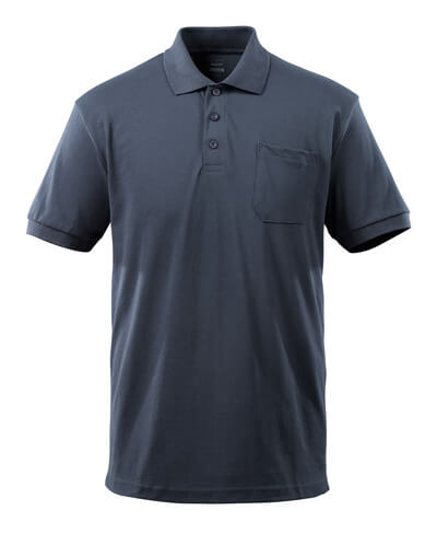 51586-968-010 Polo Shirt with chest pocket - dark navy