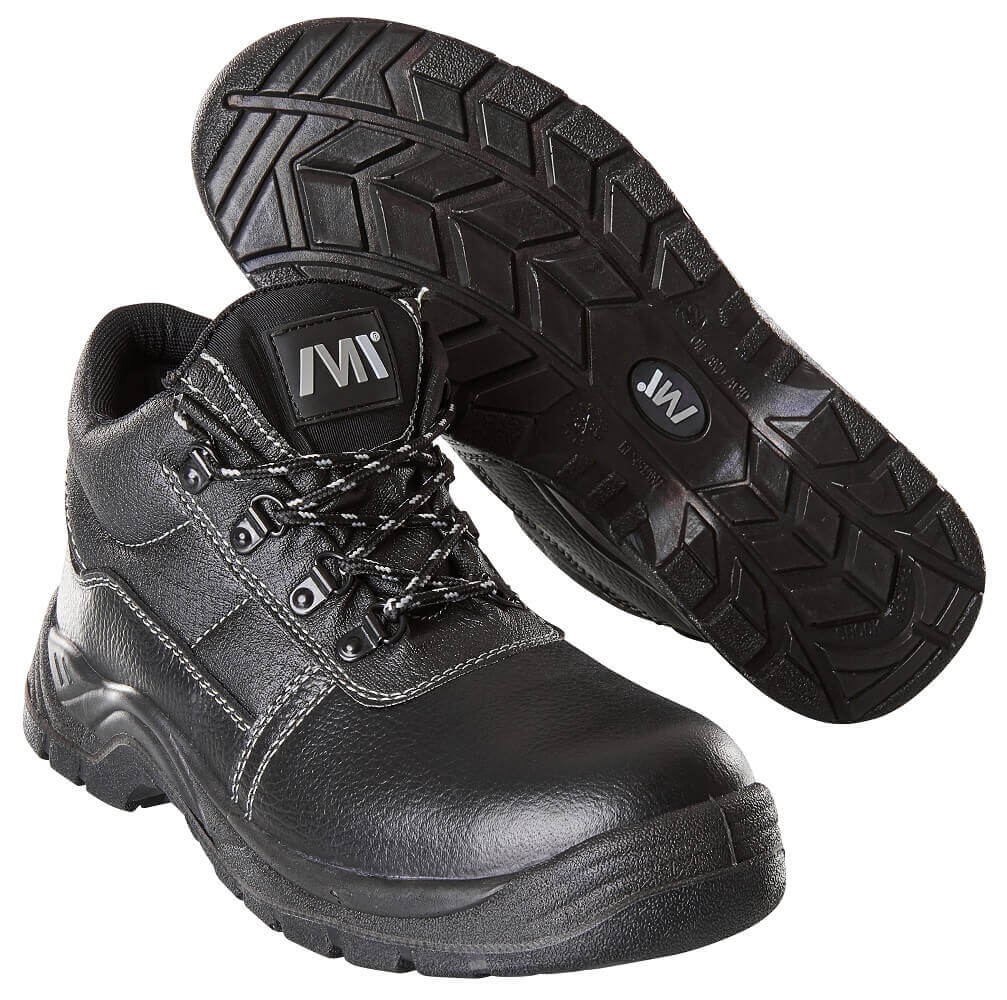 F0004-910-09 Safety Shoes (high) - black