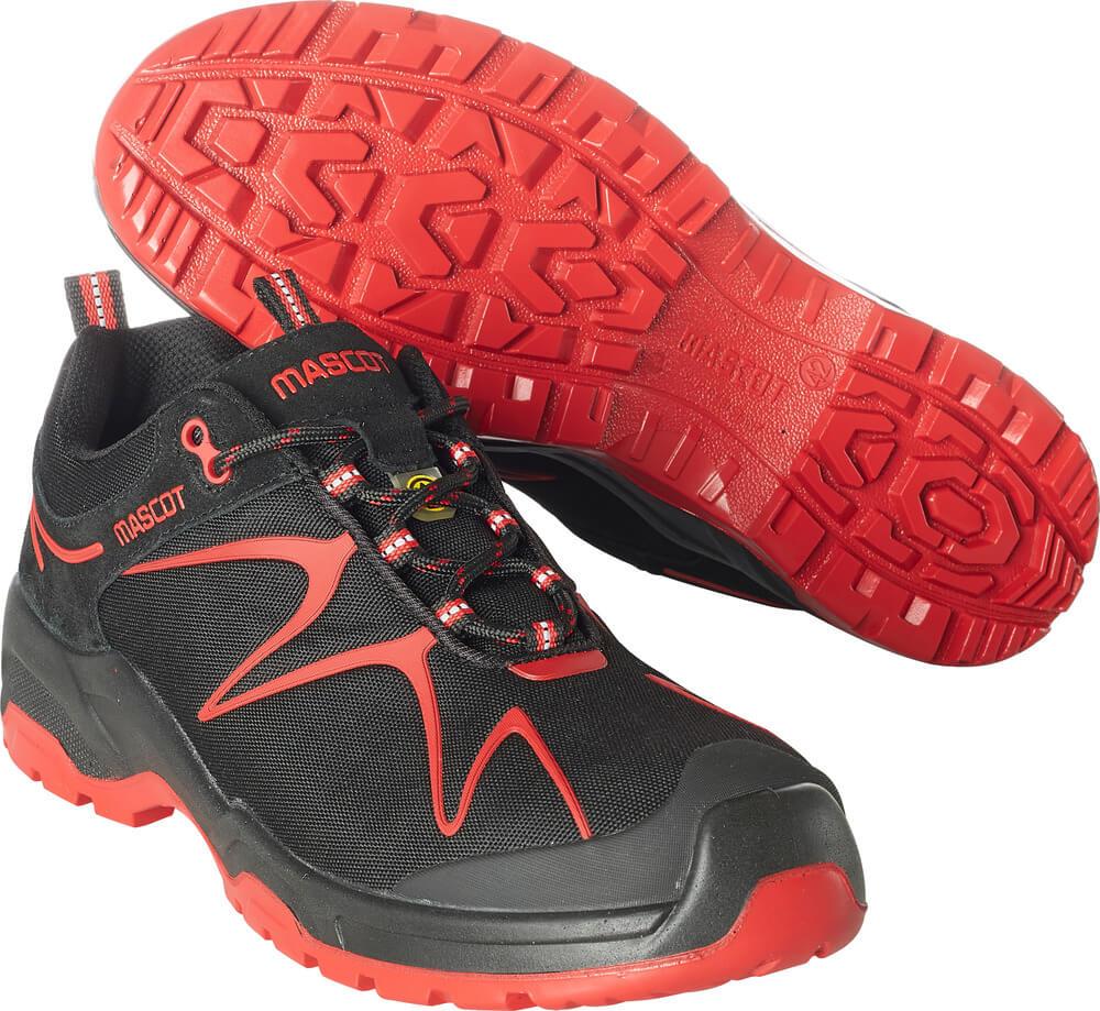 F0121-770-0902 Safety Shoe - black/red