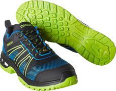F0130-849-91133 Safety Shoe - black/royal blue/lime green