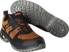 F0131-849-09140 Safety Shoe - black/dark orange