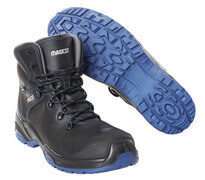 F0141-902-0901 Safety Boot - Black/royal