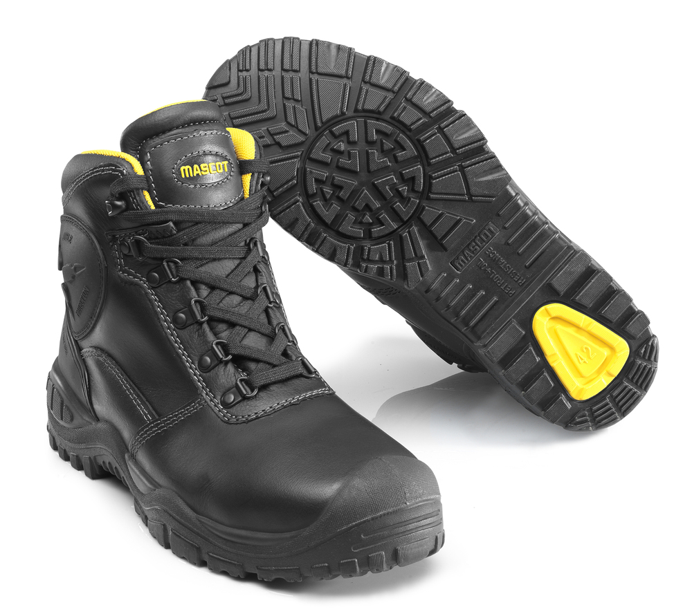F0165-902-0907 Safety Boot - black/yellow