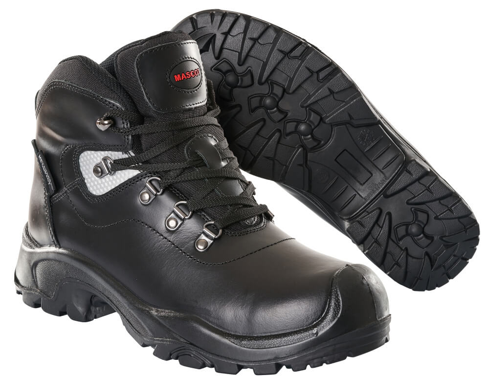 F0220-902-09 Safety Boot - black
