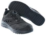 F0252-909-0909 Safety Sandal - black/black
