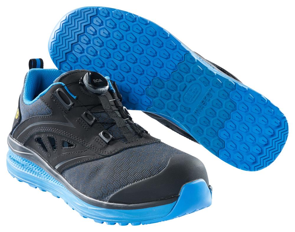F0252-909-0911 Safety Sandal - Black/royal