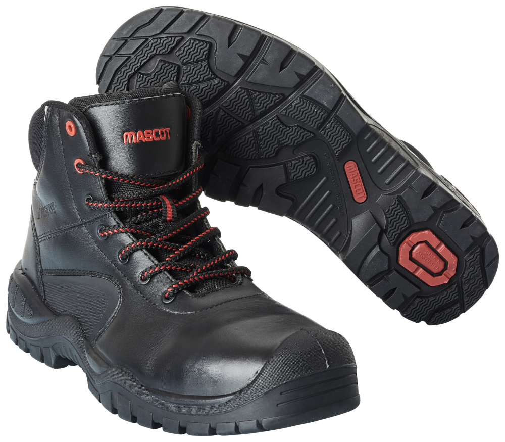 F0455-902-09 Safety Boot - black