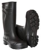 F0852-703-09 PU safety boots - black